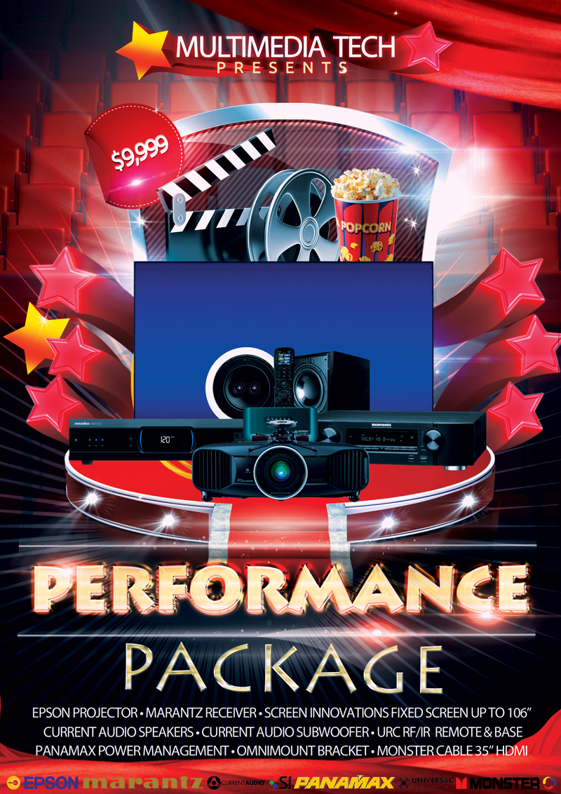 Performance Home Theater Package