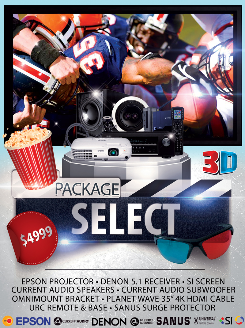 Select Home Theater Package