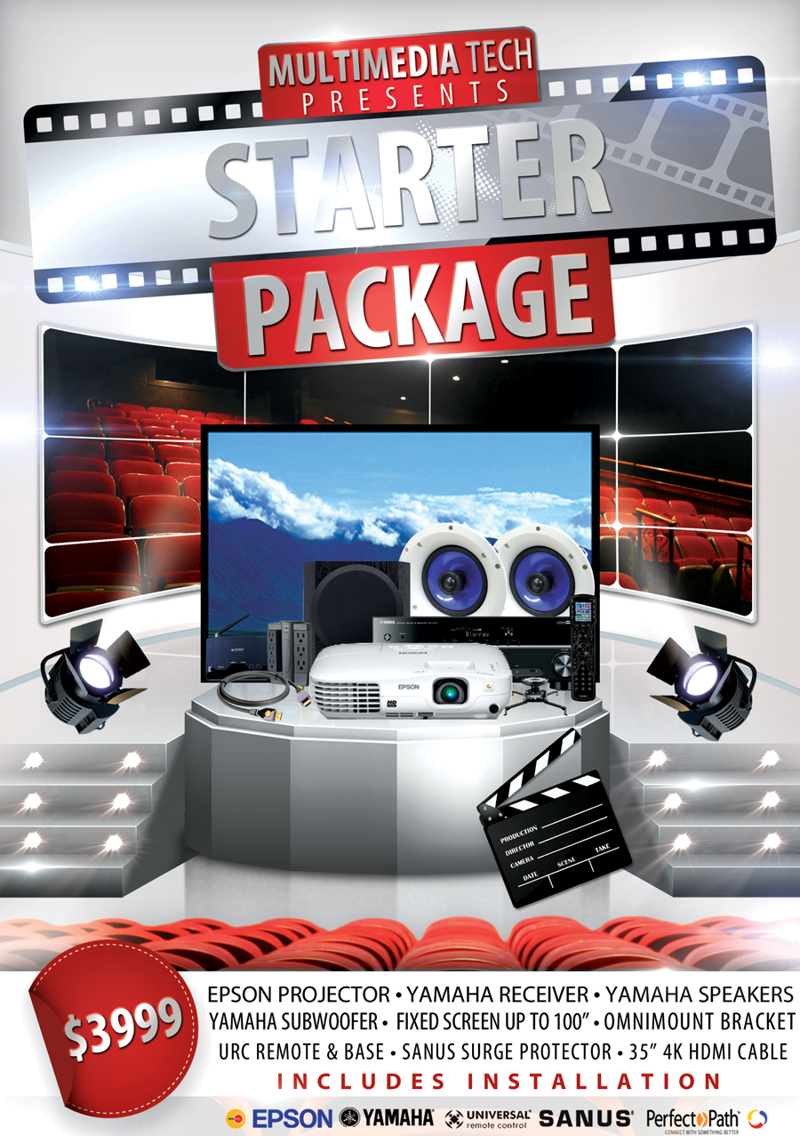 home theater packages multimedia tech