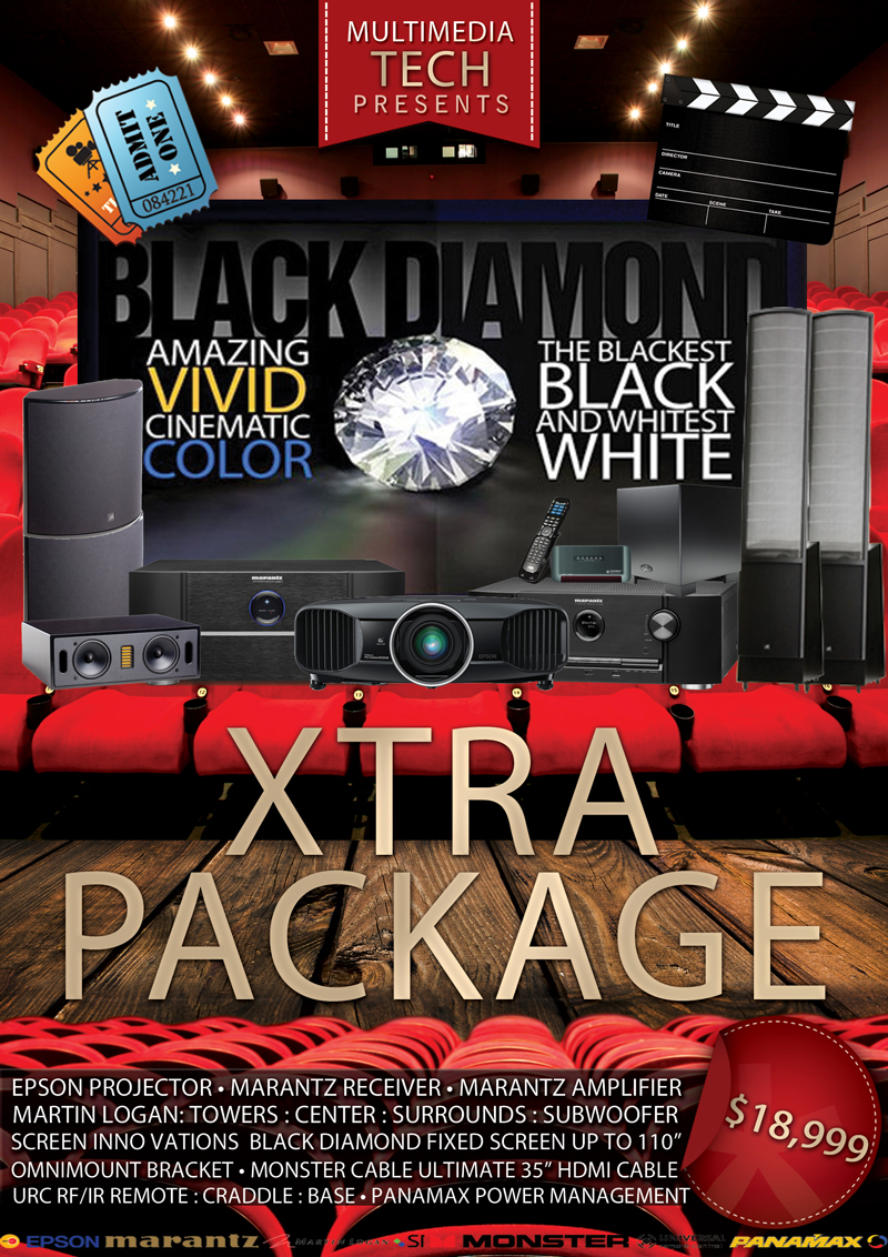 Xtra Home Theater Packages