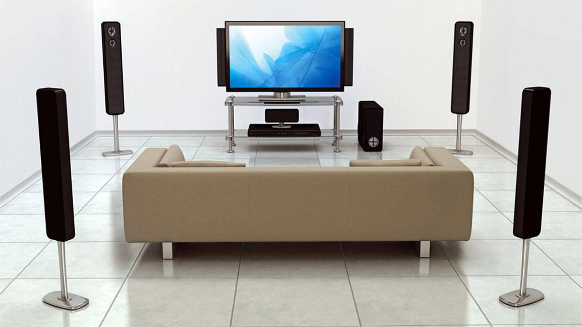 surround sound speaker layout