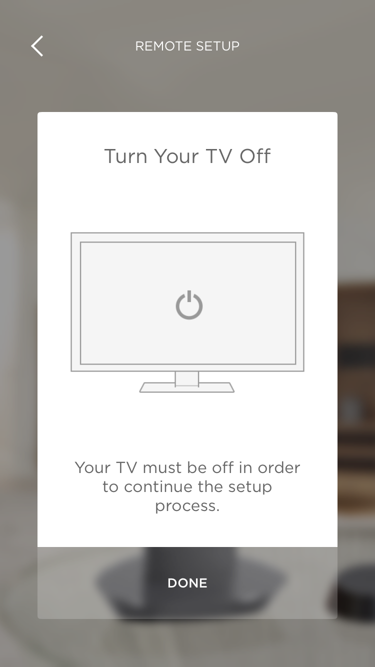 turn tv off Savant