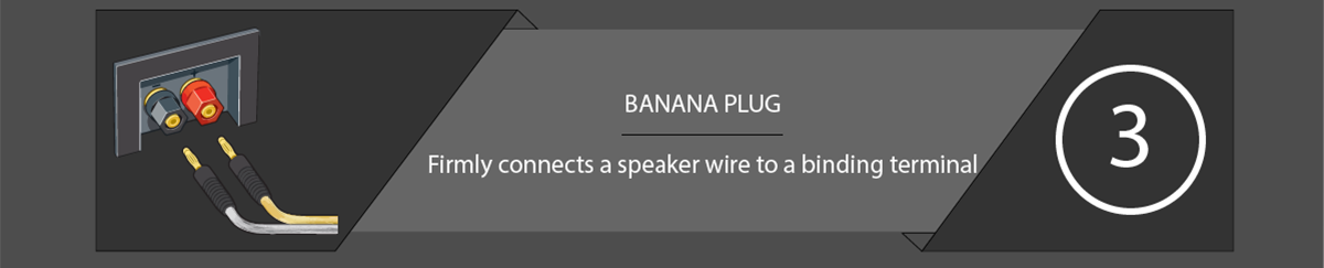 Speaker Connections Banana Plug