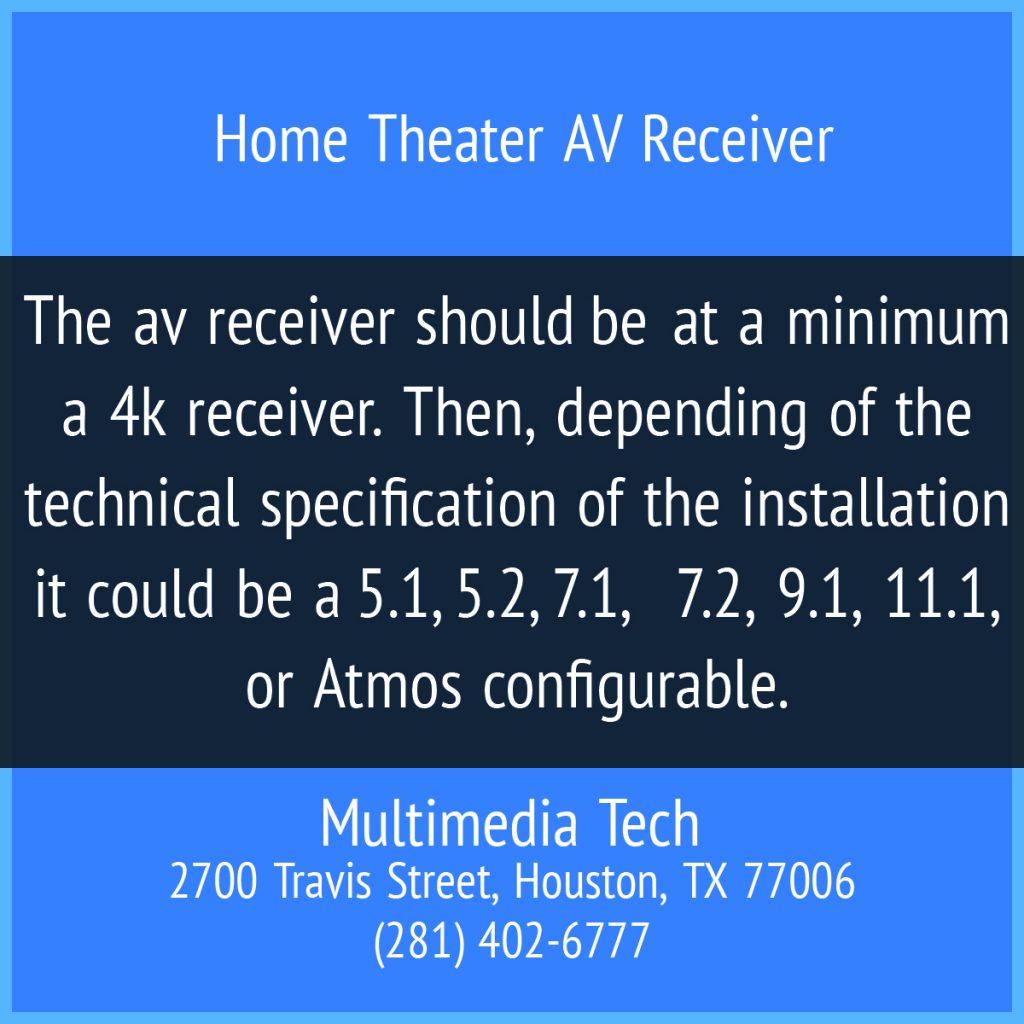 Home Theater AV Receiver
