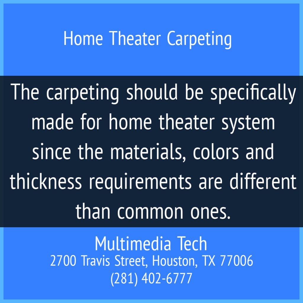 Home Theater Carpeting