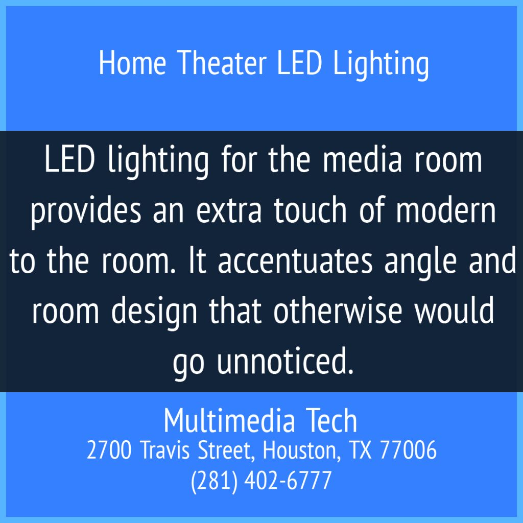 Home Theater LED Lighting