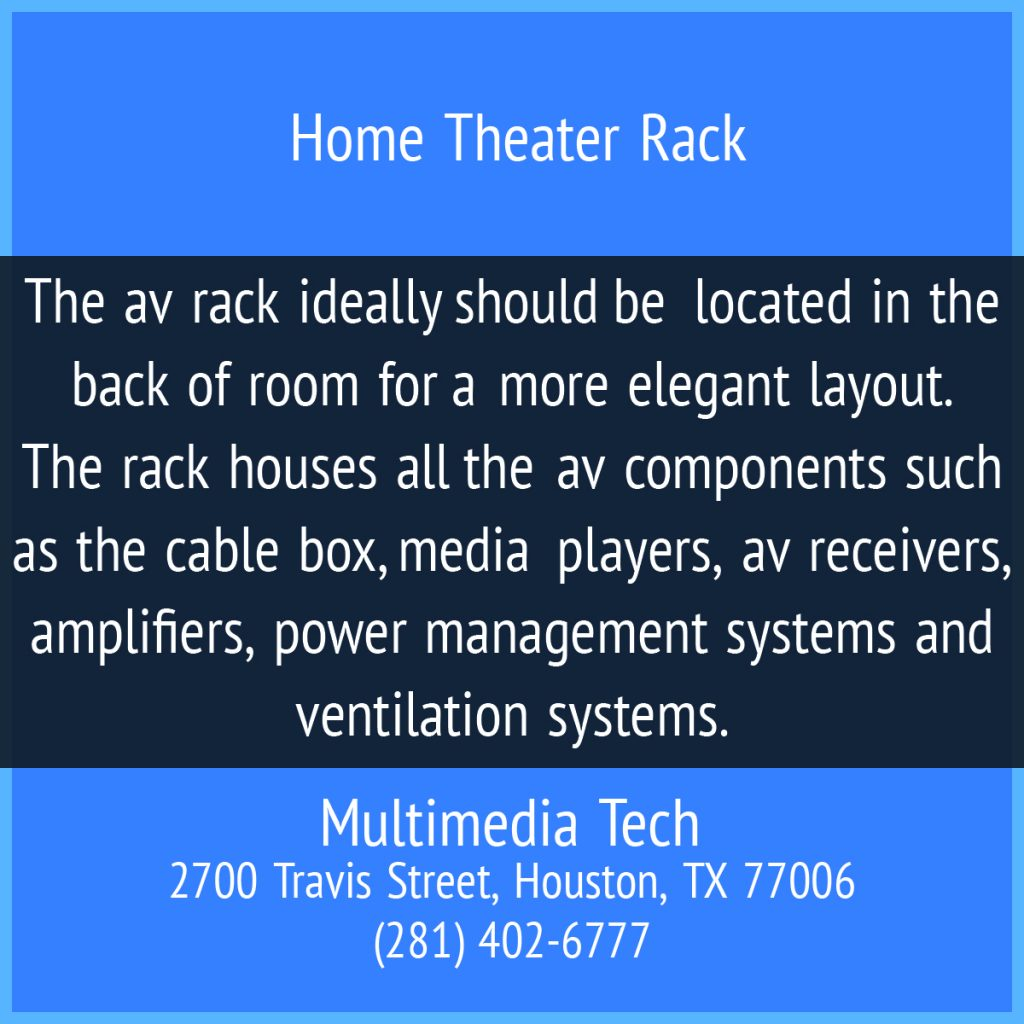 Home Theater Rack