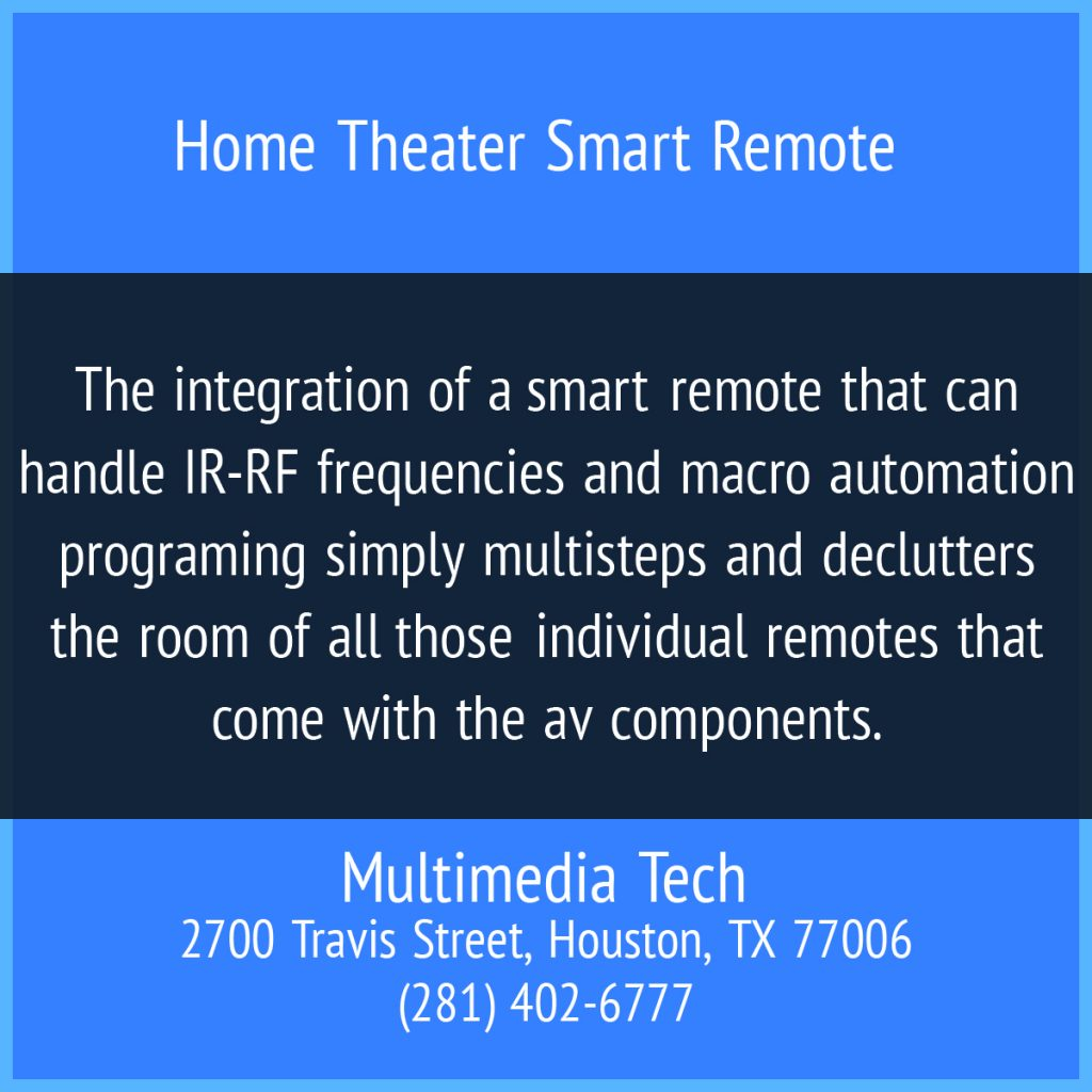 Home Theater Smart Remote